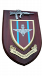 Parachute Regiment Military Wall Plaque + Pewter SA80